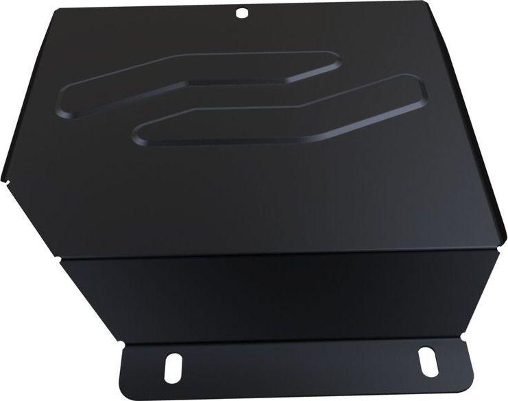 Защита редуктора Автоброня, для Honda Pilot 2012-, сталь 1,8 мм, комплект крепежа111.02123.1Защита редуктора Автоброня Honda Pilot, V - 3,5 2012-, сталь 1,8 мм, комплект крепежа, 111.02123.1 Стальные защиты двигателя и других элементов Автоброня Надежно защищают Ваш автомобиль от повреждений при наезде на бордюры, выступающие канализационные люки, кромки поврежденного асфальта или при ремонте дорог, не говоря уже о загородных дорогах. - Имеют оптимальное соотношение цена-качество. - Спроектированы с учетом особенностей автомобиля, что делает установку удобной. - Защита устанавливается в штатные места кузова автомобиля. - Является надежной защитой для важных элементов на протяжении долгих лет. - Глубокий штамп дополнительно усиливает конструкцию защиты. - Подштамповка в местах крепления защищает крепеж от срезания. - Технологические отверстия там, где они необходимы для смены масла и слива воды, оборудованные заглушками, надежно закрепленными на защите. Толщина стали: 2 мм. В комплекте набор крепежа и...