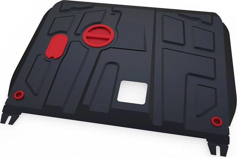 Защита картера и КПП Автоброня, для Hyundai Sonata 2015-, сталь 1,8 мм, комплект крепежа111.02356.1Защита картера и КПП Автоброня Hyundai Sonata, V-2,0 АКПП 2015-, сталь 1,8 мм, комплект крепежа, 111.02356.1 Стальные защиты двигателя и других элементов Автоброня Надежно защищают Ваш автомобиль от повреждений при наезде на бордюры, выступающие канализационные люки, кромки поврежденного асфальта или при ремонте дорог, не говоря уже о загородных дорогах. - Имеют оптимальное соотношение цена-качество. - Спроектированы с учетом особенностей автомобиля, что делает установку удобной. - Защита устанавливается в штатные места кузова автомобиля. - Является надежной защитой для важных элементов на протяжении долгих лет. - Глубокий штамп дополнительно усиливает конструкцию защиты. - Подштамповка в местах крепления защищает крепеж от срезания. - Технологические отверстия там, где они необходимы для смены масла и слива воды, оборудованные заглушками, надежно закрепленными на защите. Толщина стали: 2 мм. В комплекте набор...