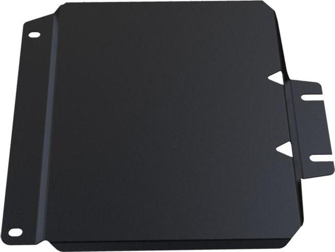 Защита РК Автоброня, для Nissan NP 300 2008-2015, сталь 1,8 мм, комплект крепежа111.04127.1Защита РК Автоброня Nissan NP 300, V - 2,5TD 2008-2015(также можно приобрести другие защитные элементы из комплекта: защита картера - 111.04125.1, защита КПП - 111.04126.1), сталь 1,8 мм, комплект крепежа, 111.04127.1 Стальные защиты двигателя и других элементов Автоброня Надежно защищают Ваш автомобиль от повреждений при наезде на бордюры, выступающие канализационные люки, кромки поврежденного асфальта или при ремонте дорог, не говоря уже о загородных дорогах. - Имеют оптимальное соотношение цена-качество. - Спроектированы с учетом особенностей автомобиля, что делает установку удобной. - Защита устанавливается в штатные места кузова автомобиля. - Является надежной защитой для важных элементов на протяжении долгих лет. - Глубокий штамп дополнительно усиливает конструкцию защиты. - Подштамповка в местах крепления защищает крепеж от срезания. - Технологические отверстия там, где они необходимы для смены масла и слива воды,...