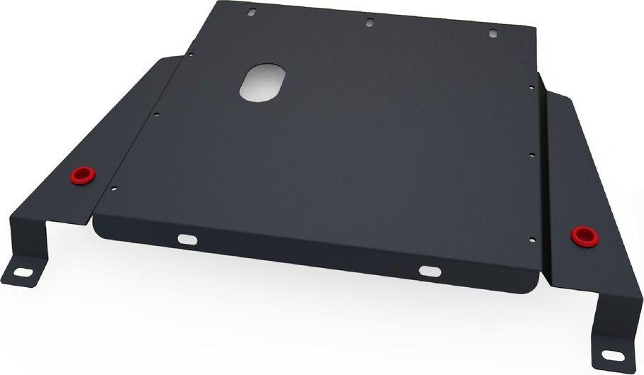 Защита КПП Автоброня, для Nissan Terrano II 1996-2002, сталь 1,8 мм, комплект крепежа111.04136.1Защита КПП Автоброня Nissan Terrano II, V - 2,4: 2,7D 1996-2002(также можно приобрести другие защитные элементы из комплекта: защита картера - 111.04135.1, защита РК - 111.04137.1), сталь 1,8 мм, комплект крепежа, 111.04136.1 Стальные защиты двигателя и других элементов Автоброня Надежно защищают Ваш автомобиль от повреждений при наезде на бордюры, выступающие канализационные люки, кромки поврежденного асфальта или при ремонте дорог, не говоря уже о загородных дорогах. - Имеют оптимальное соотношение цена-качество. - Спроектированы с учетом особенностей автомобиля, что делает установку удобной. - Защита устанавливается в штатные места кузова автомобиля. - Является надежной защитой для важных элементов на протяжении долгих лет. - Глубокий штамп дополнительно усиливает конструкцию защиты. - Подштамповка в местах крепления защищает крепеж от срезания. - Технологические отверстия там, где они необходимы для смены масла и слива воды,...