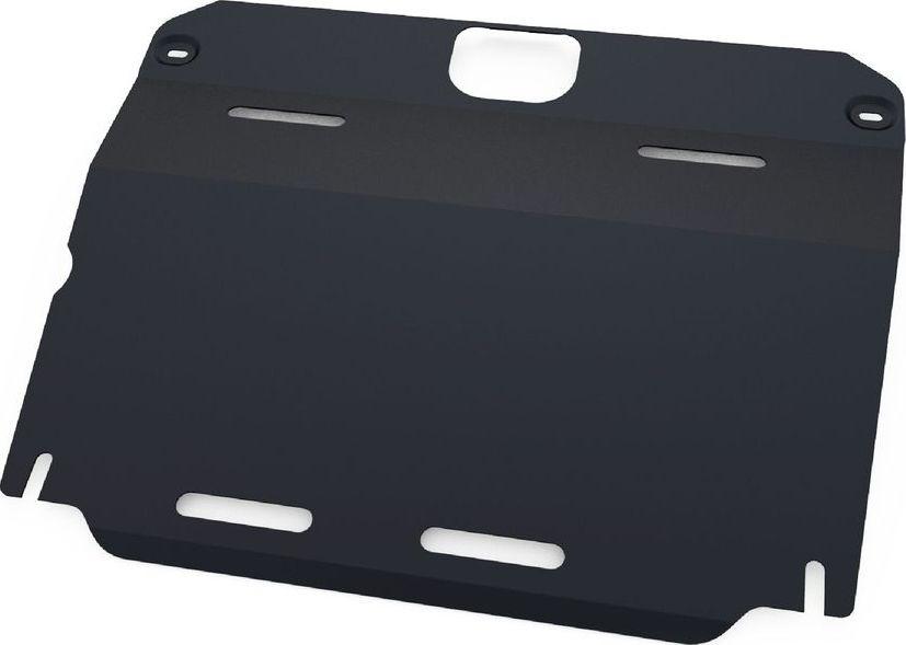 Защита картера и КПП Автоброня, для Mg 6 2013-, сталь 1,8 мм, комплект крепежа111.08602.1Защита картера и КПП Автоброня Mg 6 АКПП, V - 1,8T 2013-, сталь 1,8 мм, комплект крепежа, 111.08602.1 Стальные защиты двигателя и других элементов Автоброня Надежно защищают Ваш автомобиль от повреждений при наезде на бордюры, выступающие канализационные люки, кромки поврежденного асфальта или при ремонте дорог, не говоря уже о загородных дорогах. - Имеют оптимальное соотношение цена-качество. - Спроектированы с учетом особенностей автомобиля, что делает установку удобной. - Защита устанавливается в штатные места кузова автомобиля. - Является надежной защитой для важных элементов на протяжении долгих лет. - Глубокий штамп дополнительно усиливает конструкцию защиты. - Подштамповка в местах крепления защищает крепеж от срезания. - Технологические отверстия там, где они необходимы для смены масла и слива воды, оборудованные заглушками, надежно закрепленными на защите. Толщина стали: 2 мм. В комплекте набор крепежа и...