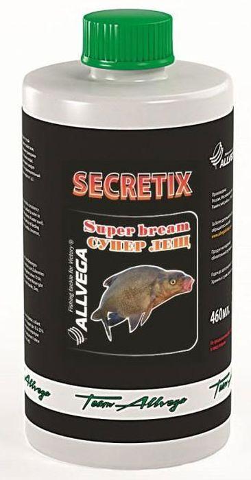 Ароматизатор жидкий для рыбалки ALLVEGA Secretix Super Bream, супер лещ, 460 мл0057661Aроматизатор, обладающий густой консистенцией и клеящим свой-ством, добавляется в воду для заме-шивания прикормки (от 10 до 25% от используемого объема воды). Ароматизированная вода пропиты-вает каждую частичку прикормки и придаёт ей привлекательный за-пах (ванили, корицы, клубники, чер-вя и т. д.).Этот любимый рыболовами нежный фруктовый вкус всегда считался эффективной добавкой для ловли карпа.