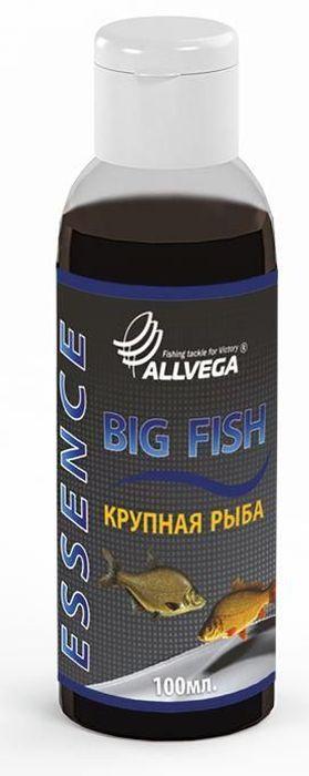 Ароматизатор-концентрат жидкий для рыбалки ALLVEGA Essence Big Fish, крупная рыба, 100 мл0057666Применяется для ароматизации рыболовных прикормок и насадок. При добавлении в смесь значительно повышает ее привлекательность для крупной рыбы.