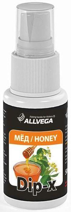 Ароматизатор-спрей для рыбалки ALLVEGA Dip-X Honey, мед, 50 мл0057670Dip-x - это серия высококонцентрированных растворов с различными запахами в виде спрея, предназначенных для быстрой ароматизации различных наживок и приманок, в том числе искусственных. Широкий ассортимент запахов позволяет выбрать оптимальный вариант в любой ситуации. Емкость: 50 мл.