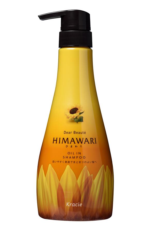 Kracie 70001kr Dear Beaute Шампунь для поврежденных волос с раститительным комплексом Himawari Premium EX, 500 мл70001krДанная серия восстанавливает гидро-липидный баланс волос, делая их сильными, гладкими и распрямленными! После использо- вания волосы становятся послушными и легко поддаются укладке. Растительный комплекс Himawari Premium EX распознает повреждения, вызванные нарушением гидро-липидного баланса во внешней и внутренней части волоса. Входящие в состав компоненты устраняют дисбаланс, возвращая волосам здоровье и гладкость. За восстановление структуры волоса отвечают органическое подсолнечное масло, органический экстракт побегов подсолнуха, а также экстракты семян и цветков подсолнуха. В составе средства отсутствуют силиконы и не используются ПАВы сульфатного происхождения.