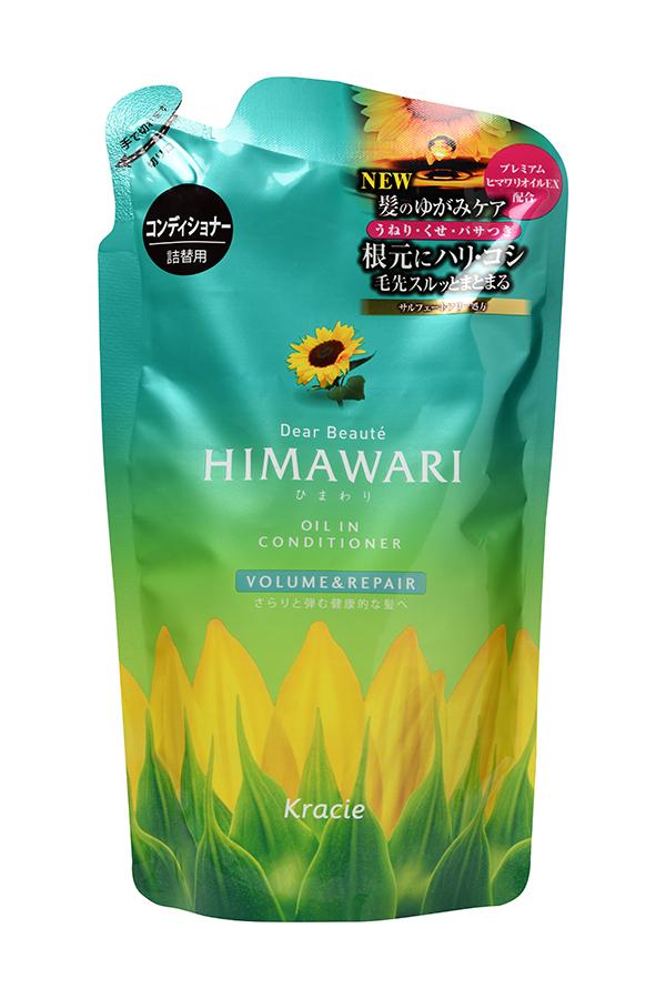 """Kracie 70014kr """"Dear Beaute"""" Бальзам-ополаскиватель для придания объема поврежденным волосам с раститительным комплексом Himawari Premium"""