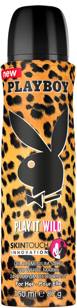Playboy Play It Wild Female Парфюмированный дезодорант спрей 150 мл 3614221139677