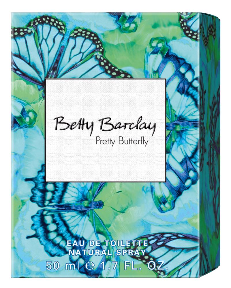 Betty Barclay Pretty Butterfly Туалетная вода 50 мл4011700363018Betty Barclay Pretty Butterfly - идеальный аромат для чувственных и уверенных в себе женщин в возрасте от 20 до 49, чья жизнь наполнена счастьем.