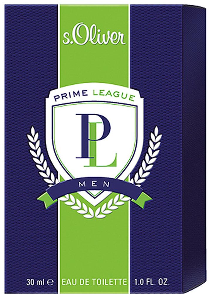 S.oliver Prime League Men Туалетная вода 30 мл4011700865000Аромат s.Oliver PRIME LEAGUE воплощает идеальное сочетание спортивной энергии и классической элегантности, подчеркивающий командный дух, целеустремленность, и радость