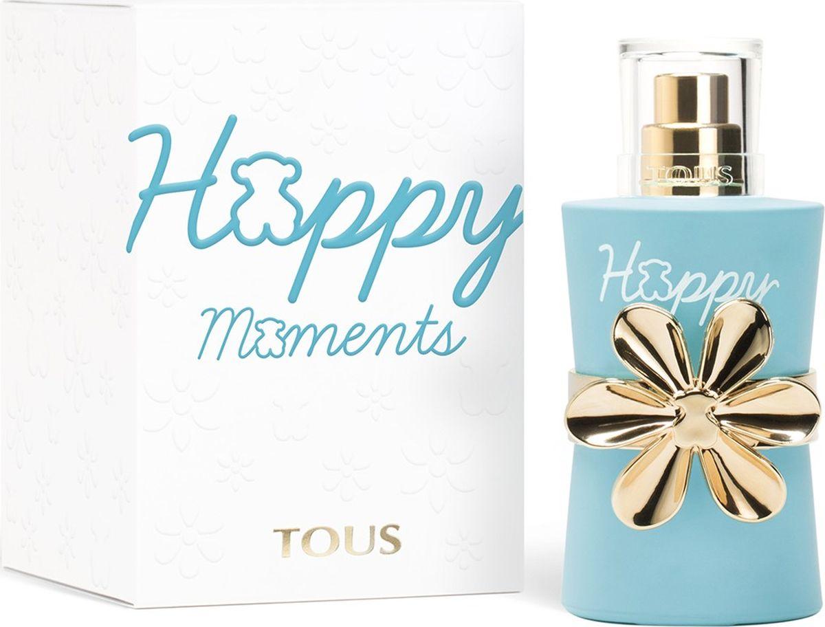 Tous Happy Moments Туалетная вода 30 мл04-1802000Новая оптимистичная и жизнерадостная композиция призывает посмотреть на жизнь с положительной стороны и всегда помнить, что в любой ситуации можно приобрести ценный опыт и найти что-то хорошее.