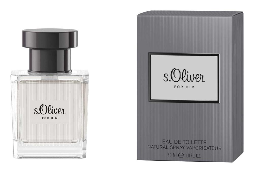 S.oliver For Him Туалетная вода 50мл4011700878017Новая линия s.Oliver создана специально для того, чтобы навсегда запечатлеть в памяти самые приятные мгновения. Главный тренд сезона: Образ все оттенки серого
