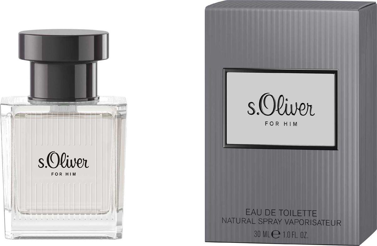 S.oliver For Him Туалетная вода 30мл4011700878000Новая линия s.Oliver создана специально для того, чтобы навсегда запечатлеть в памяти самые приятные мгновения. Главный тренд сезона: Образ все оттенки серого