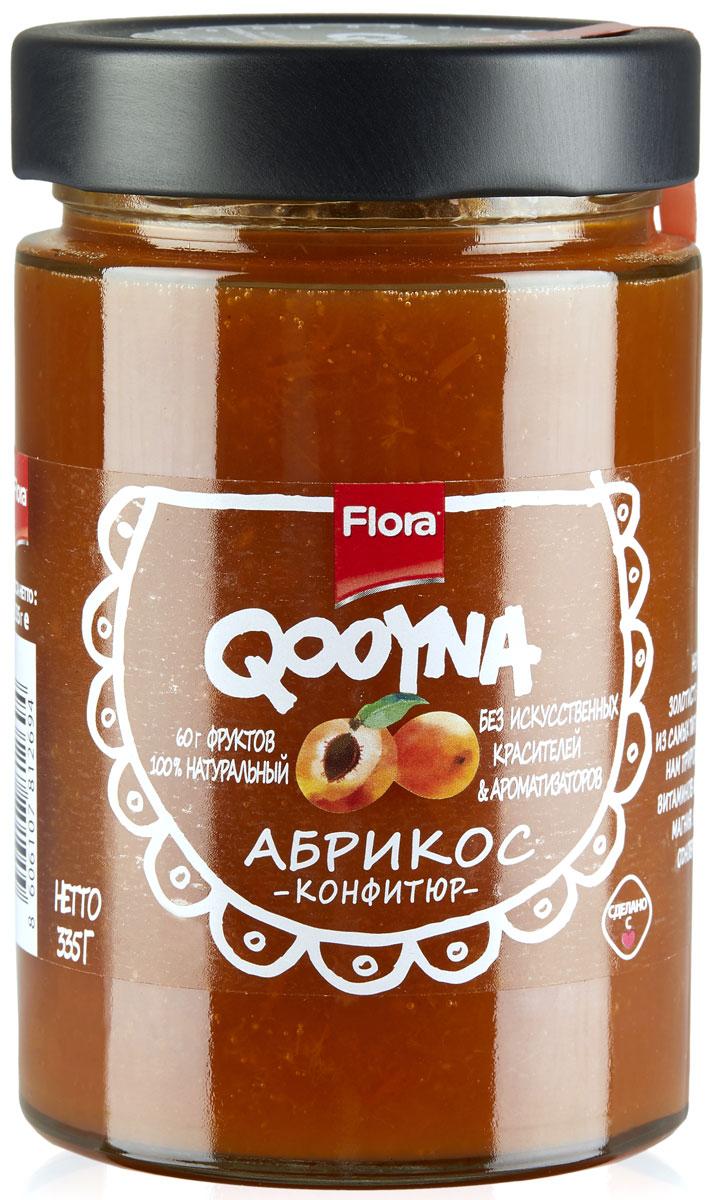 Qooyna Абрикос конфитюр, 335 г3400506
