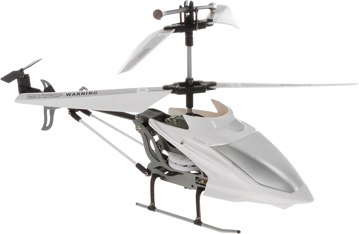 HappyCow Вертолет на инфракрасном управлении I-Helicopter цвет белый 22 см