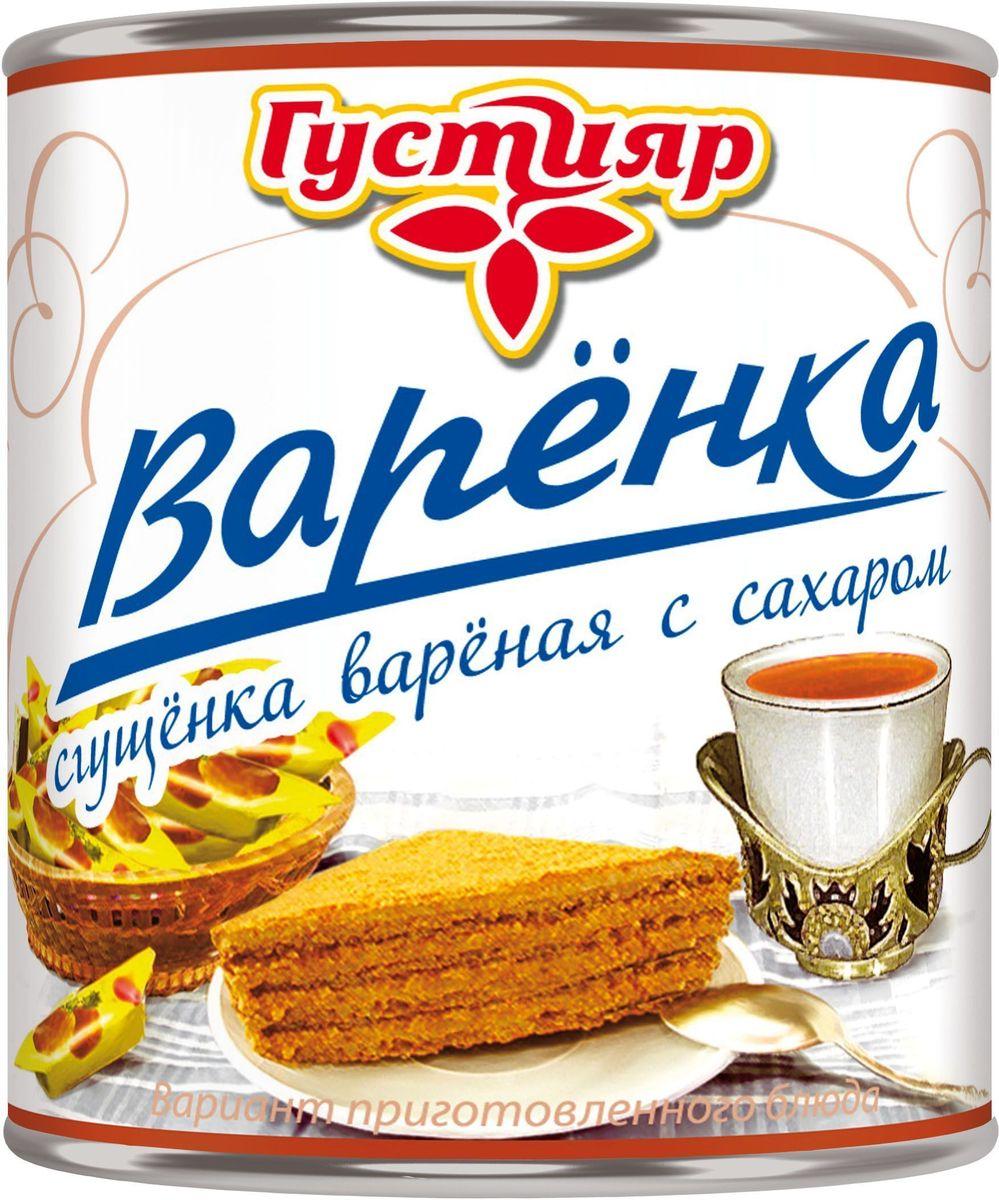 Союзконсервмолоко Густияр молоко сгущенное вареное, 370 г