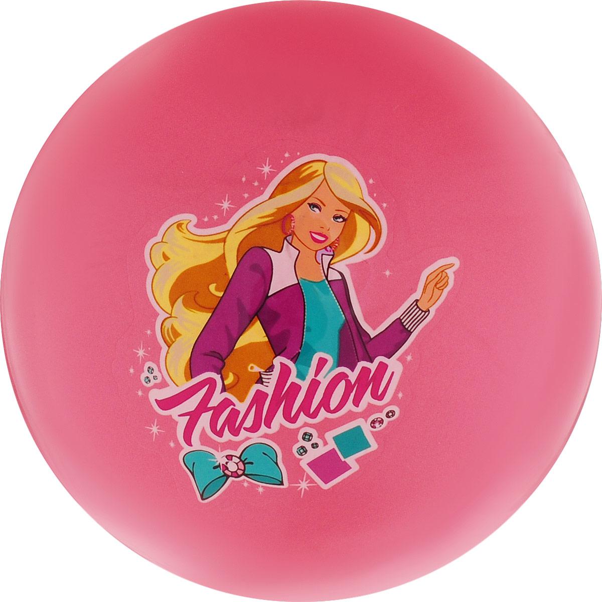 Играем вместе Мяч Fashion цвет коралловый 23 см AD-9(GIRL)