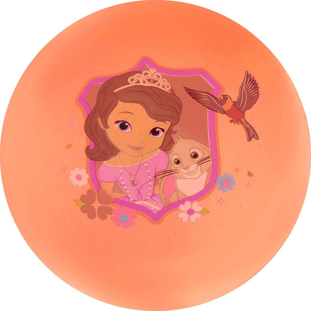 Играем вместе Мяч София Прекрасная цвет оранжевый 23 см