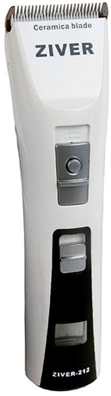 Машинка для стрижки животных Ziver 212, аккумуляторно-сетевая, 15 Вт20.ZV.057МАШИНКА ДЛЯ СТРИЖКИ СОБАК АККУМУЛЯТОРНО-СЕТЕВАЯ ZIVER-212, 15Вт, LCD-дисплей, Li-Ion аккумулятор без эффекта памяти, 180 мин. Зарядка / 240 мин работа, насадки, керамический нож, встроенный регулятор длины стрижки