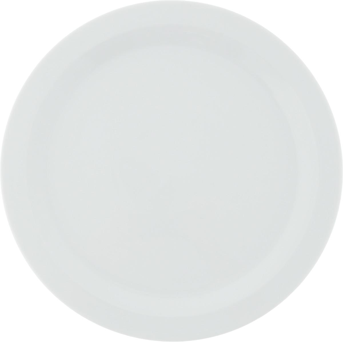 Тарелка обеденная Tescoma Gustito, диаметр 27 см386326Обеденная тарелка Tescoma Gustito изготовлена из первоклассного фарфора с глазурованным покрытием. Изделие идеально подходит для сервировки любого стола. Такая тарелка прекрасно впишется в интерьер вашей кухни и станет достойным дополнением к кухонному инвентарю. Подходит для использования в микроволновой печи и холодильнике. Можно мыть посудомоечной машине.