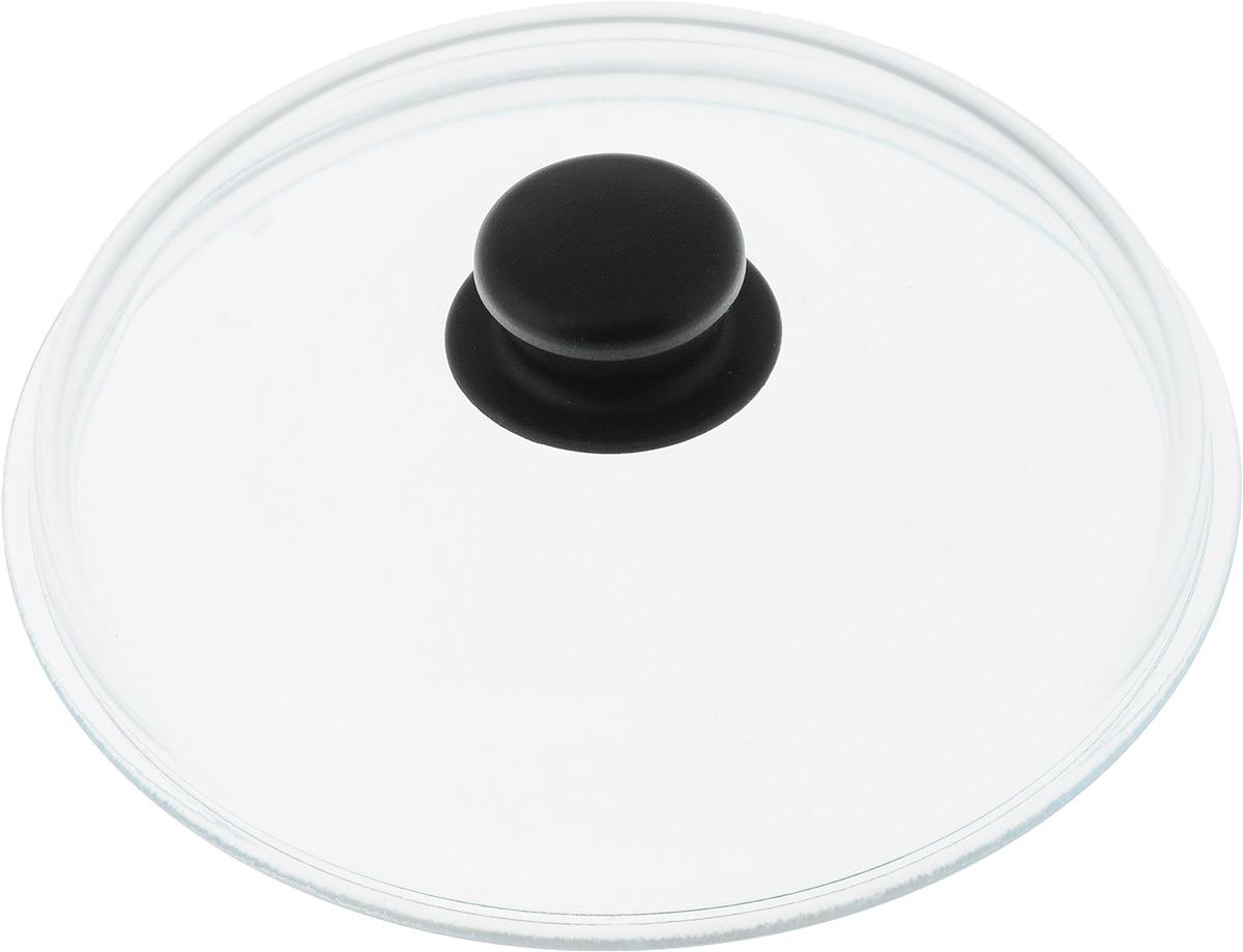Крышка стеклянная Добрыня. Диаметр 22 см. DO-4007DO-4007Крышка Добрыня изготовлена из термостойкого и экологически чистого стекла. Крышка оснащена удобной ненагревающейся ручкой из пластика. Такая крышка позволит следить за процессом приготовления пищи без потери тепла. Она плотно прилегает к краям посуды, сохраняя аромат блюд. Выдерживает перепады температур от -40°С до +150°С. Можно мыть в посудомоечной машине. Изделие можно использовать в духовке без ручки.