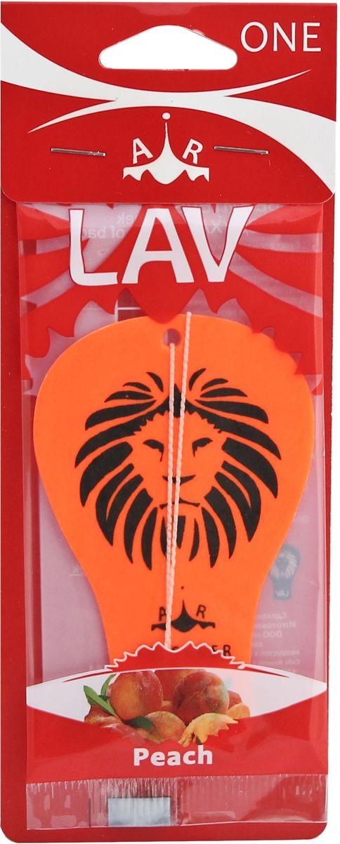 Ароматизатор автомобильный LAV One. Peach50564