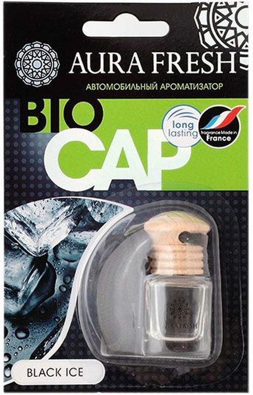 Ароматизатор автомобильный Aura Fresh Bio Cap. Black IceAUR-BC-0002