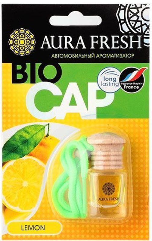 Ароматизатор автомобильный Aura Fresh Bio Cap. LemonAUR-BC-0006