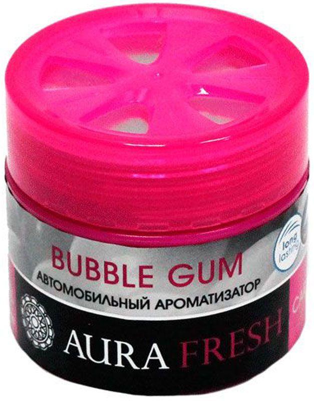 Ароматизатор автомобильный Aura Fresh Bubble Gum , на панельAUR-CG-0003
