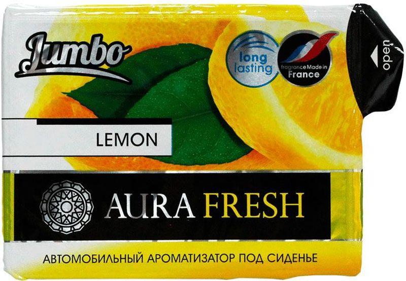 Ароматизатор автомобильный Aura Fresh Jumbo. Lemon, под сидениеAUR-J-0006