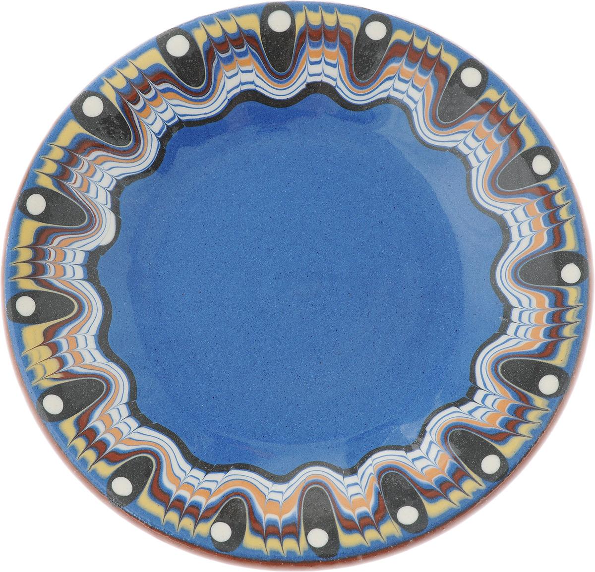 Блюдце Troian ceramics, 12 см003/P0012Блюдце Troian ceramics выполнено из высококачественной керамики. Изделие оформлено узором. Изящное блюдце не только красиво оформит стол к чаепитию, но и станет прекрасным подарком друзьям и близким. Диаметр блюдца: 12 см. Высота блюдца: 1,5 см.
