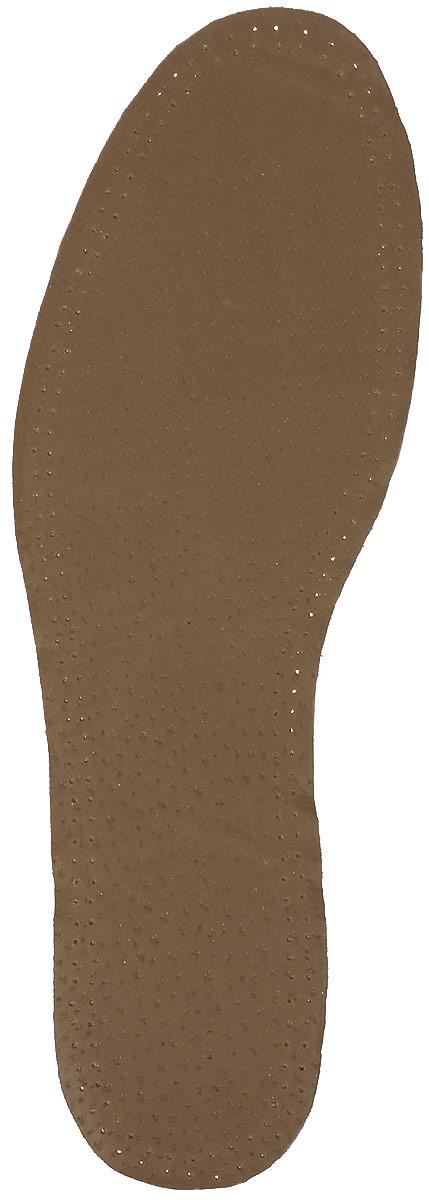 Стелька, OmaKing кожа на пенке из латекса, 42/43T-440-43Кожаные стельки изготовлены из эластичной свиной кожи на подкладке из латекса с содержанием активированного угля, который помогает предотвратить запах, впитывает влагу и создаёт благоприятный микроклимат для ног.