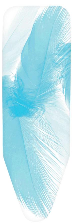 Чехол для гладильной доски Brabantia с войлоком, цвет: белый, голубой, 135 х 45 см264801Чехол для гладильной доски Brabantia выполнен из натурального хлопка с подкладкой из поролона (4 мм) и войлока (4 мм). Чехол разработан специально для гладильных досок Brabantia и подходит для большинства утюгов и паровых систем. Благодаря системе фиксации (эластичный шнурок с ключом для натяжения и резинка с крючками по центру) чехол легко крепится к гладильной доске, а поверхность всегда остается гладкой и натянутой. Чехол для гладильной доски Brabantia подарит вашей доске новую жизнь и создаст идеальную поверхность для глажения и отпаривания белья.