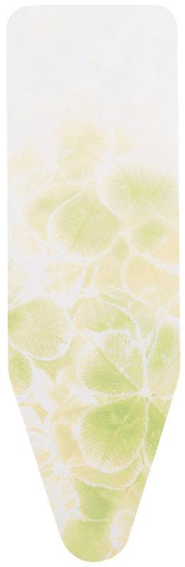Чехол для гладильной доски Brabantia, цвет: белый, желтый, 124 х 38 см191404_белый, желтыйЧехол для гладильной доски Brabantia подарит вашей доске новую жизнь и создаст идеальную поверхность для глажения и отпаривания белья. Изделие выполнено из натурального 100% хлопка с подкладкой из поролона (4 мм). Чехол разработан специально для гладильных досок Brabantia и подходит для большинства утюгов и паровых систем. Благодаря системе фиксации (эластичный шнурок с ключом для натяжения и резинка с крючками по центру) чехол легко крепится к гладильной доске, а поверхность всегда остается гладкой и натянутой.