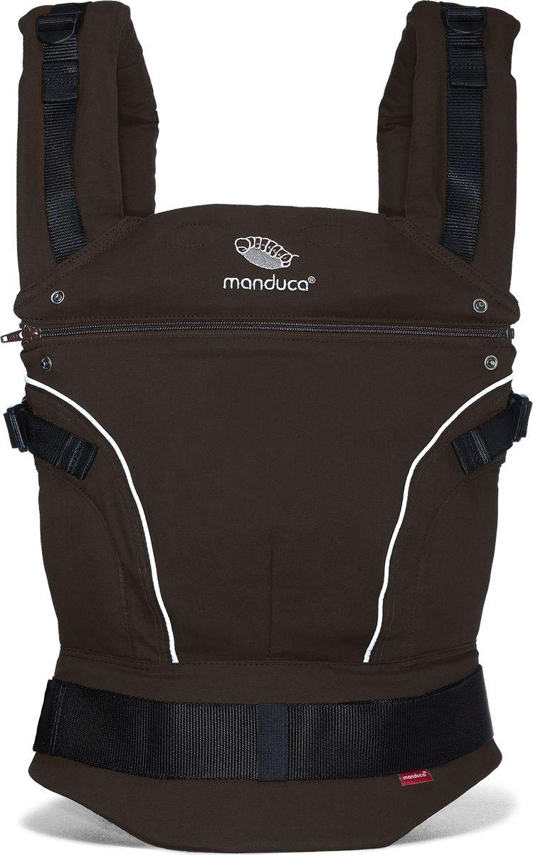 Manduca Слинг-рюкзак PureCotton цвет коричневый 2220354000