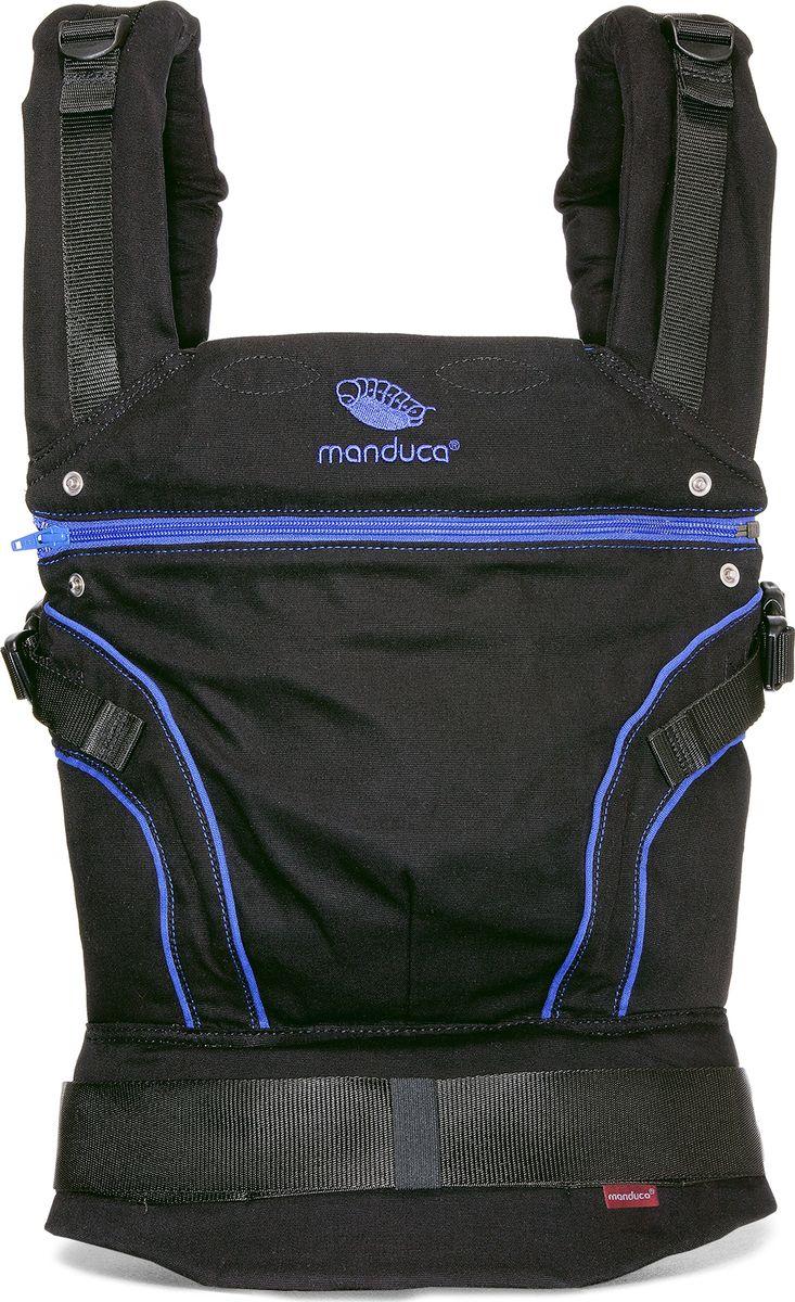 Manduca Слинг-рюкзак BlackLine AbsoluteBlue с накладками цвет синий 2222011004