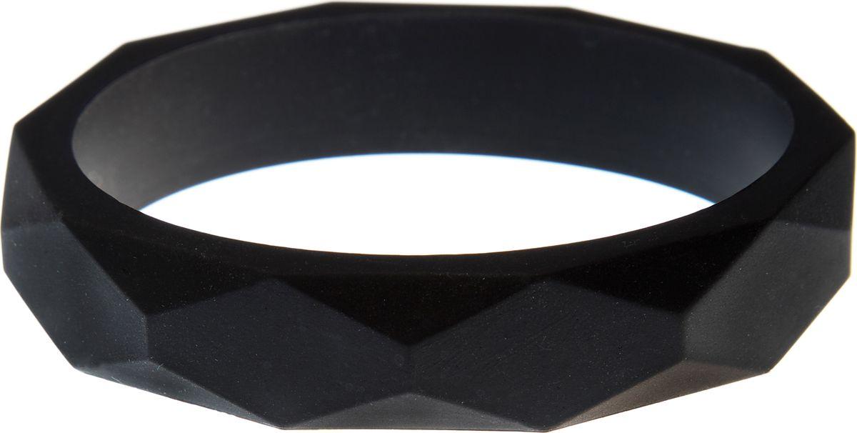 МАМидея Молочный браслет из пищевого силикона цвет черный