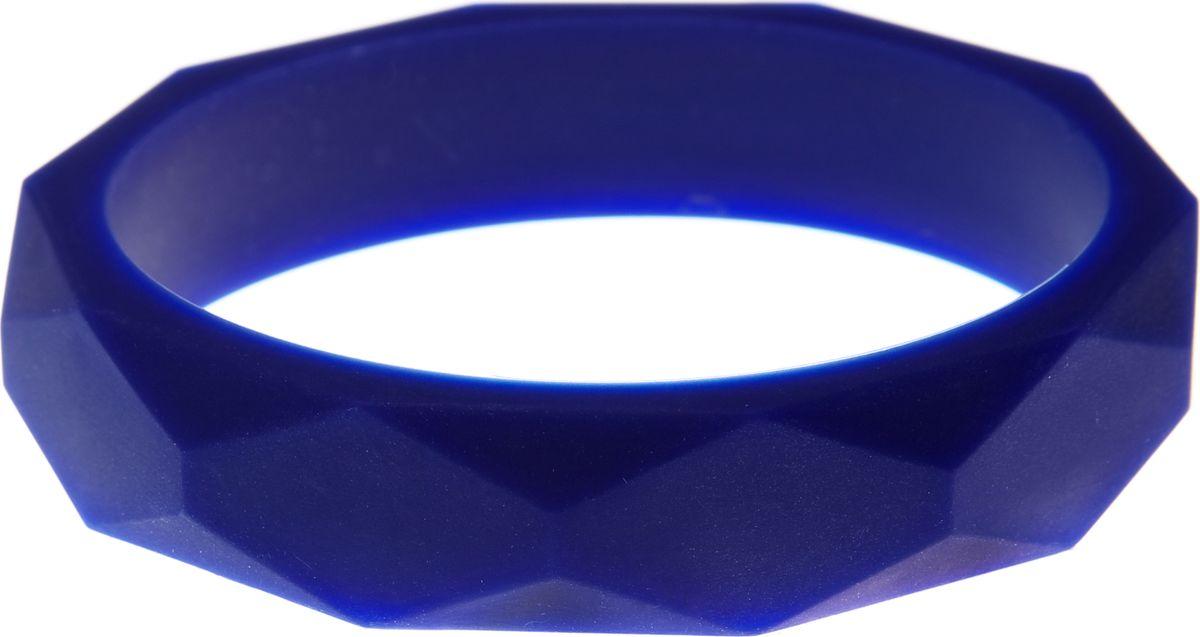 МАМидея Молочный браслет из пищевого силикона цвет синий
