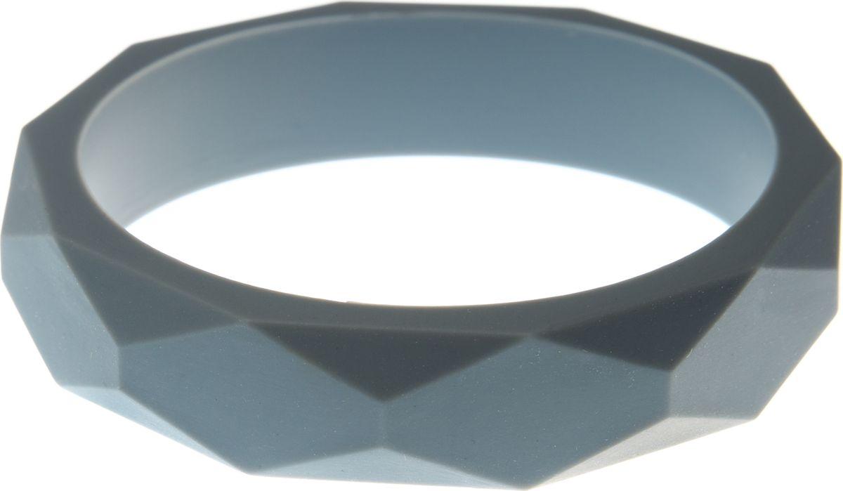 МАМидея Молочный браслет из пищевого силикона цвет серый
