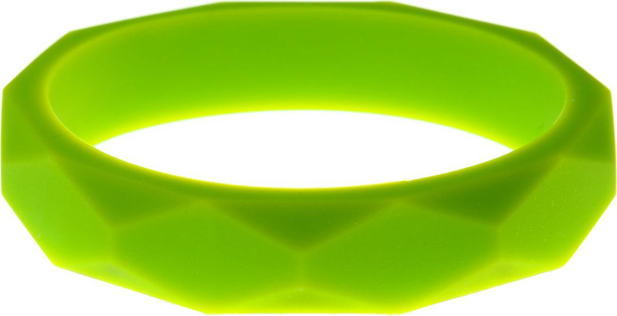 МАМидея Молочный браслет из пищевого силикона цвет салатовый