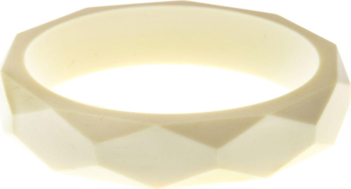 МАМидея Молочный браслет из пищевого силикона цвет бежевый