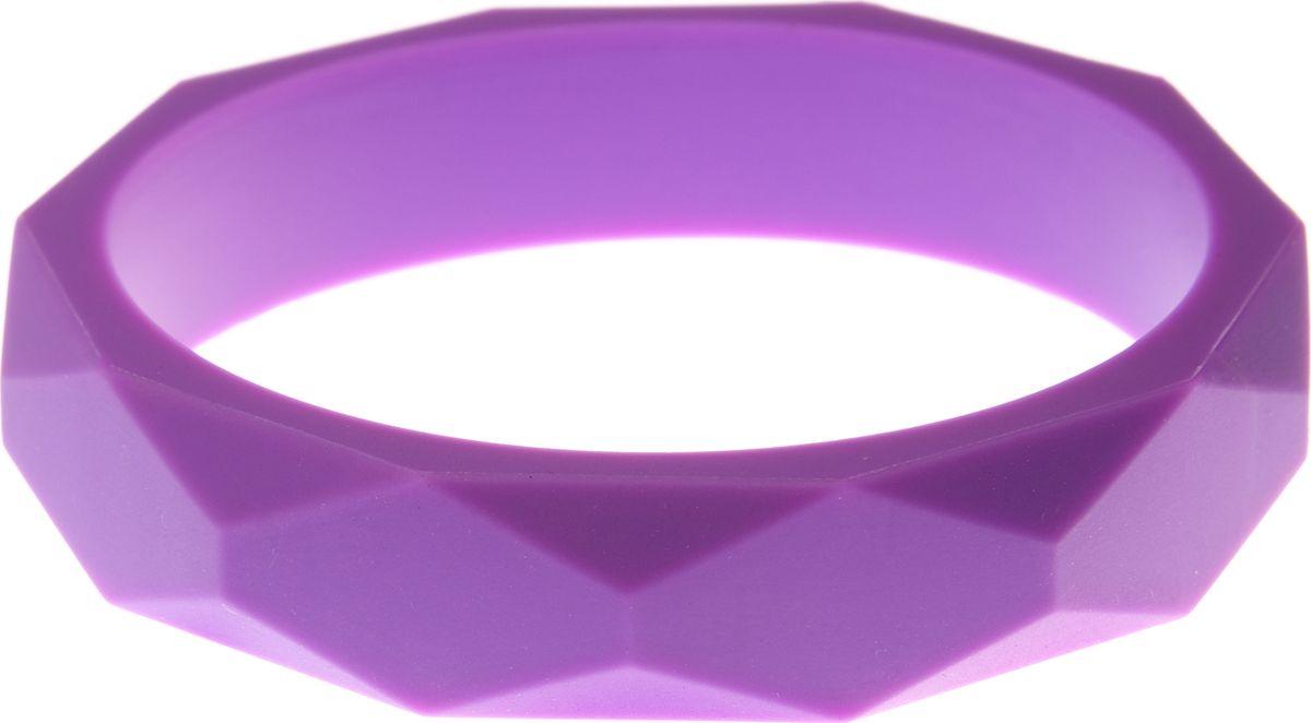 МАМидея Молочный браслет из пищевого силикона цвет фиолетовый