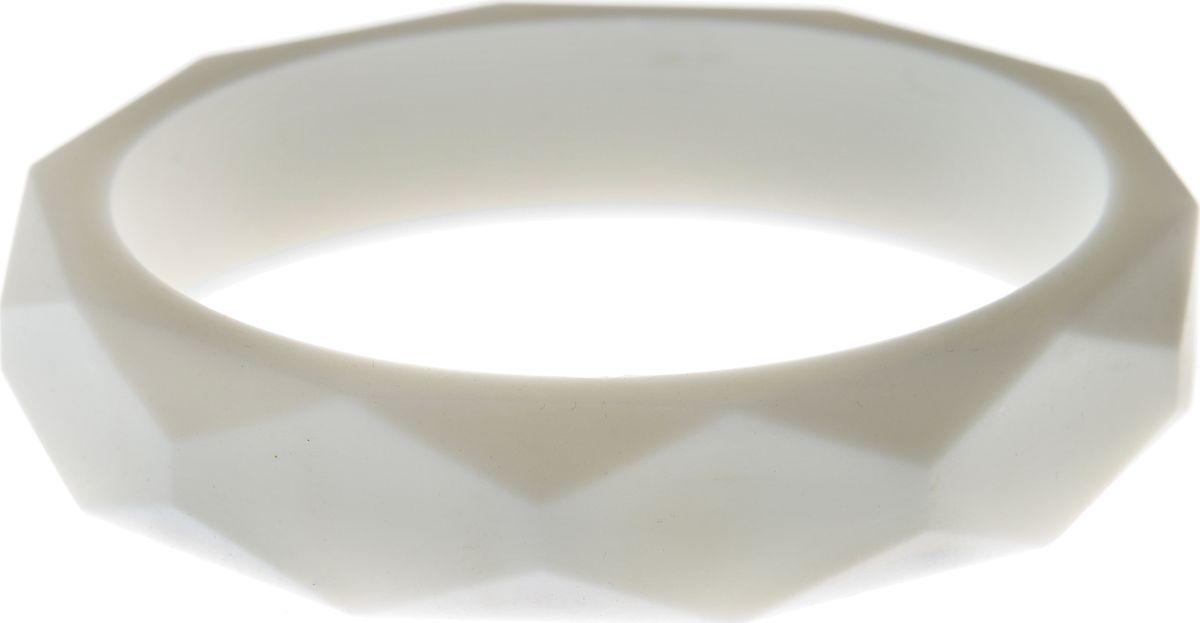 МАМидея Молочный браслет из пищевого силикона цвет белый