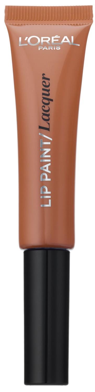 LOreal Paris Краска для губ Infaillible Lip Paint, жидкая помада, глянцевая, Оттенок 101, Идеальный нюд, 8 млA8970500Яркие пигменты помад дарят насыщенный цвет, а плотная текстура легко ложится на губы и не стирается. Профессиональный аппликатор позволяет легко и точно нанести продукт на губы.