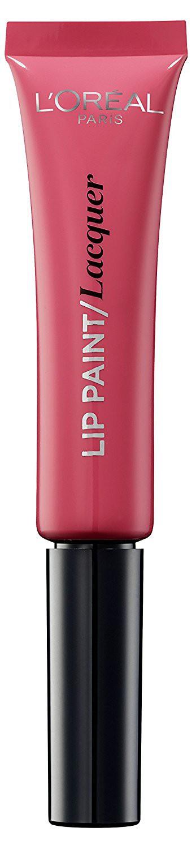 LOreal Paris Краска для губ Infaillible Lip Paint, жидкая помада, глянцевая, Оттенок 102, Леди в розовом, 8 млA8986400Яркие пигменты помад дарят насыщенный цвет, а плотная текстура легко ложится на губы и не стирается. Профессиональный аппликатор позволяет легко и точно нанести продукт на губы.