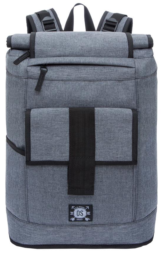 Рюкзак городской мужской Grizzly, цвет: серый. RU-702-2/1RU-702-2/1Рюкзак молодежный, вставка-трансформер для увеличения объема рюкзака, одно отделение, клапан на липучках, карман на передней стенке, боковой карман, внутренний карман на молнии, внутренний укрепленный карман для ноутбука, укрепленная спинка, карман быстрого доступа в верхней части рюкзака, карман быстрого сбоку, дополнительная ручка-петля, укрепленные лямки с возможностью регулировки размера под рост