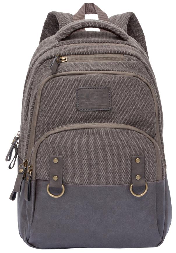 Рюкзак городской мужской Grizzly, цвет: коричневый. RU-703-1/2RU-703-1/2Рюкзак молодежный, два отделения, объемный карман на молнии на передней стенке, внутренний составной пенал-органайзер, внутренний укрепленный карман для ноутбука, укрепленная спинка, карман быстрого доступа в верхней части рюкзака, дополнительная ручка-петля, мягкая укрепленная ручка, укрепленные лямки