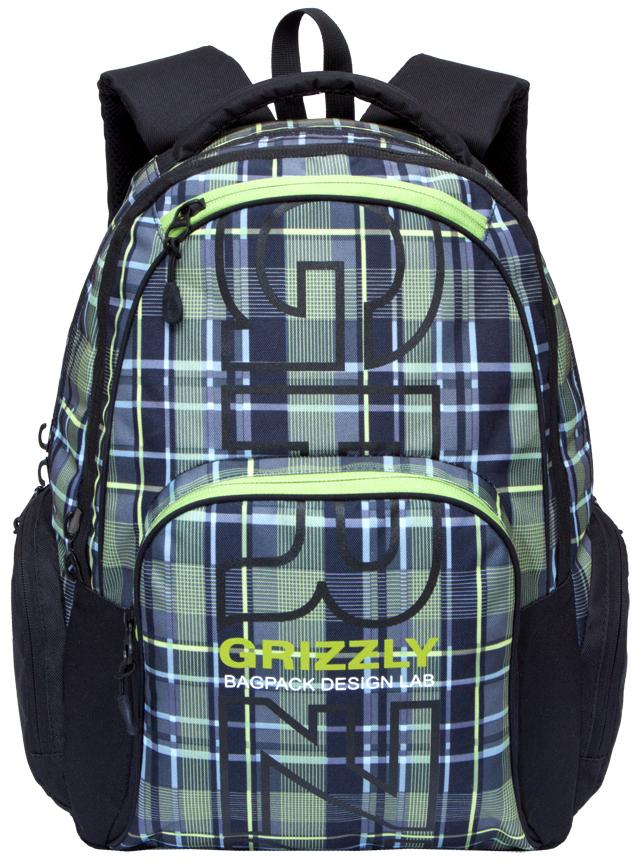 Рюкзак городской мужской Grizzly, цвет: оливковый. RU-709-2/1RU-709-2/1Рюкзак молодежный, два отделения, карман на молнии на передней стенке, объемный карман на молнии на передней стенке, объемные боковые карманы на молнии, внутренний карман-пенал для карандашей, внутренний карман под гаджет и карман на молнии, жесткая анатомическая спинка, дополнительная ручка-петля, укрепленные лямки