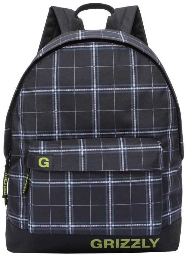 Рюкзак городской мужской Grizzly, цвет: серый металлик. RU-709-3/4