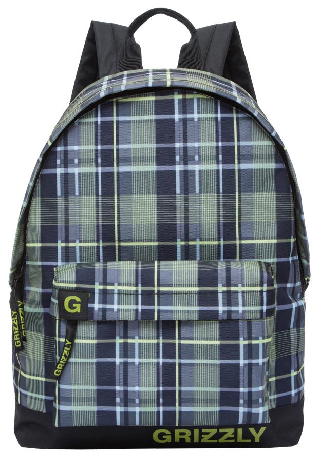Рюкзак городской мужской Grizzly, цвет: оливковый. RU-709-3/5RU-709-3/5Рюкзак молодежный, одно отделение, объемный карман на молнии на передней стенке, внутренний подвесной карман на молнии, укрепленная спинка, дополнительная ручка-петля, укрепленные лямки