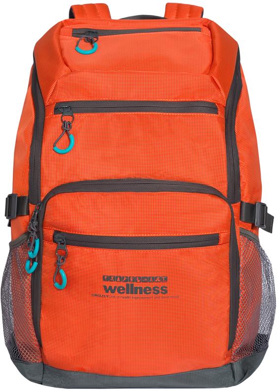 Рюкзак городской мужской Grizzly, цвет: оранжевый. RU-710-1/4RU-710-1/4Рюкзак молодежный, одно отделение, карман на молнии на передней стенке, объемный карман на молнии на передней стенке, боковые карманы из сетки, боковые стяжки-фиксаторы, жесткая анатомическая спинка, карман быстрого доступа в верхней части рюкзака, дополнительная ручка-петля, укрепленные лямки, карман для гаджета с пеной и карманом на молнии, карман для обуви на молнии на передней стенки с плоским карманом на молнии
